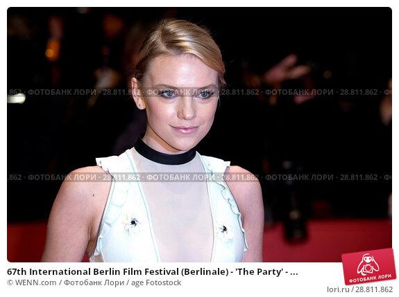 Купить «67th International Berlin Film Festival (Berlinale) - 'The Party' - Premiere - Arrivals Featuring: Elina Vaska Where: Berlin, Germany When: 13 Feb 2017 Credit: WENN.com», фото № 28811862, снято 13 февраля 2017 г. (c) age Fotostock / Фотобанк Лори