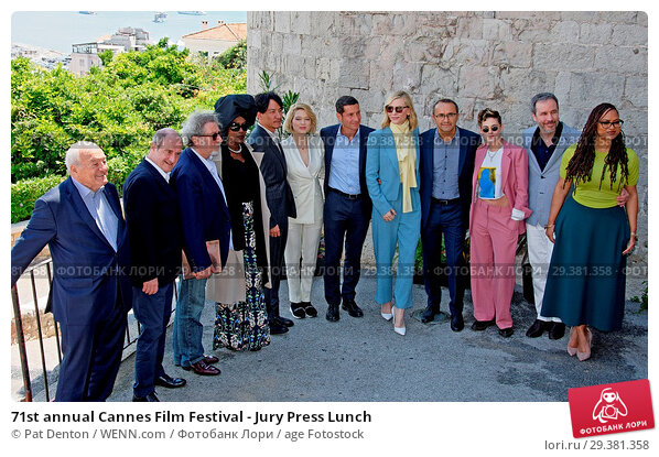 Купить «71st annual Cannes Film Festival - Jury Press Lunch Featuring: Chang Chen, Léa Seydoux, Mayor of Cannes, David Lisnard, Cate Blanchett, Kristen Stewart...», фото № 29381358, снято 16 мая 2018 г. (c) age Fotostock / Фотобанк Лори