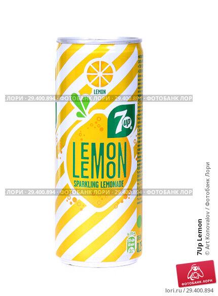 Купить «7Up Lemon», фото № 29400894, снято 7 ноября 2018 г. (c) Art Konovalov / Фотобанк Лори