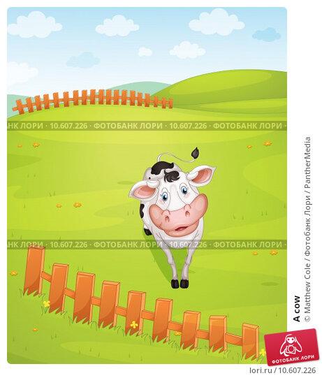 A cow. Стоковая иллюстрация, иллюстратор Matthew Cole / PantherMedia / Фотобанк Лори