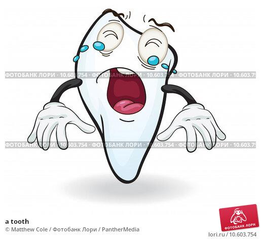 a tooth. Стоковая иллюстрация, иллюстратор Matthew Cole / PantherMedia / Фотобанк Лори