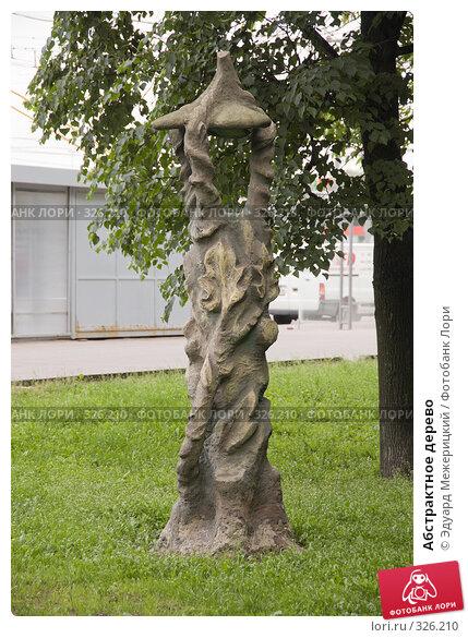 Абстрактное дерево, фото № 326210, снято 16 июня 2008 г. (c) Эдуард Межерицкий / Фотобанк Лори
