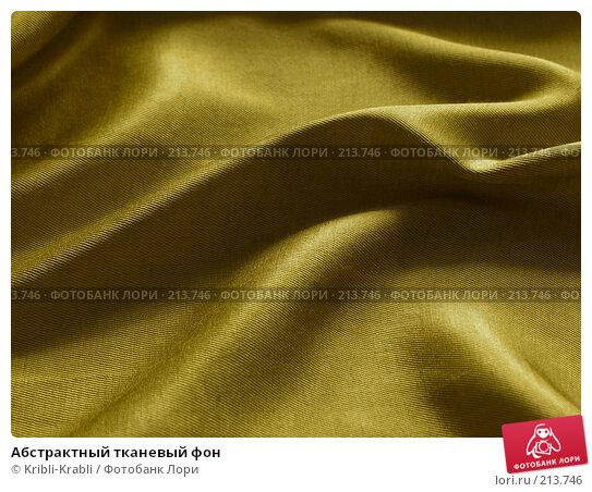 Абстрактный тканевый фон, фото № 213746, снято 3 марта 2008 г. (c) Kribli-Krabli / Фотобанк Лори