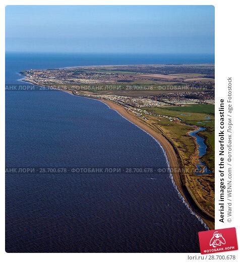 Купить «Aerial images of the Norfolk coastline Featuring: Norfolk coastline Where: Norfolk, United Kingdom When: 27 Aug 2014 Credit: Ward/WENN.com», фото № 28700678, снято 27 августа 2014 г. (c) age Fotostock / Фотобанк Лори