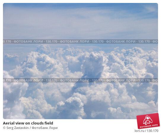 Aerial view on clouds field, фото № 130170, снято 30 июня 2004 г. (c) Serg Zastavkin / Фотобанк Лори