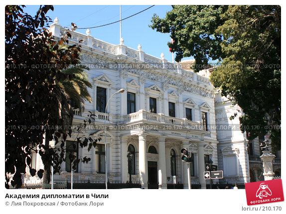 Академия дипломатии в Чили, фото № 210170, снято 4 января 2008 г. (c) Лия Покровская / Фотобанк Лори