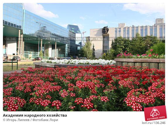 Академия народного хозяйства, фото № 136246, снято 22 июня 2007 г. (c) Игорь Лилеев / Фотобанк Лори