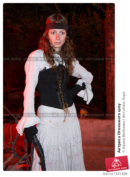 Актриса Огненного шоу, эксклюзивное фото № 221626, снято 24 июня 2007 г. (c) Ирина Мойсеева / Фотобанк Лори