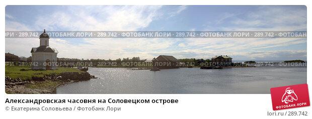 Александровская часовня на Соловецком острове, фото № 289742, снято 19 февраля 2017 г. (c) Екатерина Соловьева / Фотобанк Лори