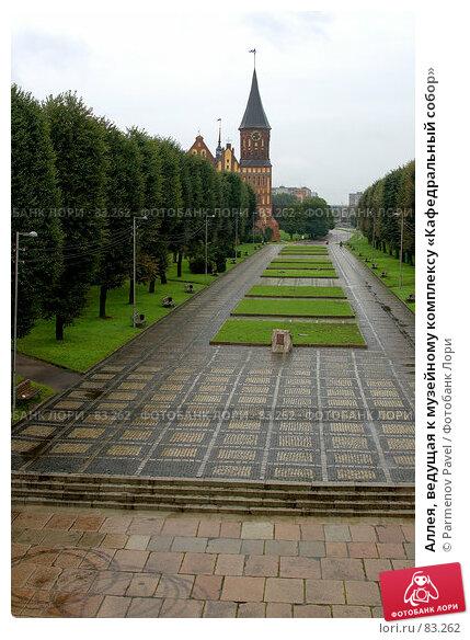 Аллея, ведущая к музейному комплексу «Кафедральный собор», фото № 83262, снято 3 сентября 2007 г. (c) Parmenov Pavel / Фотобанк Лори