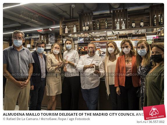 ALMUDENA MAILLO TOURISM DELEGATE OF THE MADRID CITY COUNCIL AND DIRECTOR... Редакционное фото, фотограф Rafael De La Camara / age Fotostock / Фотобанк Лори