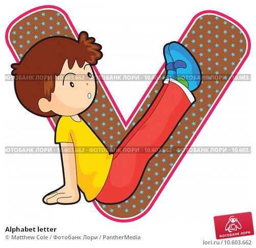 Alphabet letter. Стоковая иллюстрация, иллюстратор Matthew Cole / PantherMedia / Фотобанк Лори