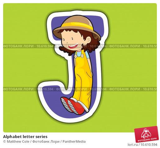 Alphabet letter series. Стоковая иллюстрация, иллюстратор Matthew Cole / PantherMedia / Фотобанк Лори