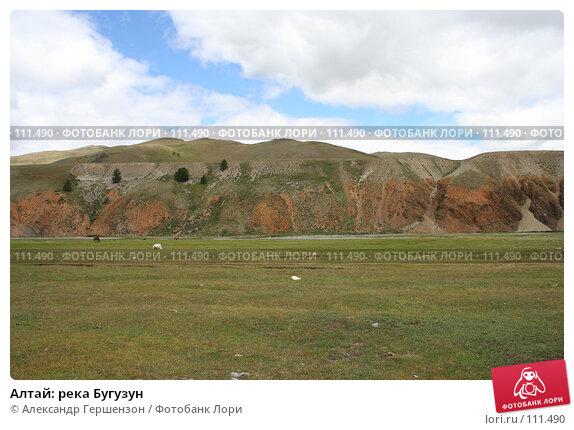 Алтай: река Бугузун, фото № 111490, снято 26 июля 2006 г. (c) Александр Гершензон / Фотобанк Лори