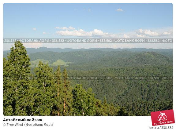 Купить «Алтайский пейзаж», эксклюзивное фото № 338582, снято 25 июня 2008 г. (c) Free Wind / Фотобанк Лори