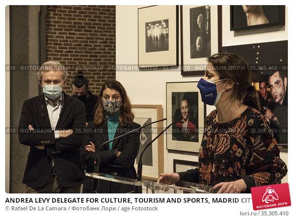 ANDREA LEVY DELEGATE FOR CULTURE, TOURISM AND SPORTS, MADRID CITY... Редакционное фото, фотограф Rafael De La Camara / age Fotostock / Фотобанк Лори