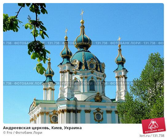 Андреевская церковь, Киев, Украина, фото № 131738, снято 21 января 2017 г. (c) Fro / Фотобанк Лори