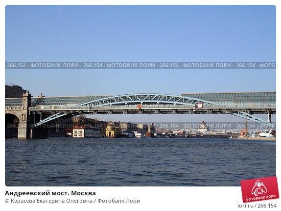 Андреевский мост. Москва, фото № 266154, снято 2 апреля 2008 г. (c) Карасева Екатерина Олеговна / Фотобанк Лори