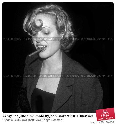 #Angelina Jolie 1997.Photo By John BarrettPHOTOlink.net.. Редакционное фото, фотограф Adam Scull / age Fotostock / Фотобанк Лори