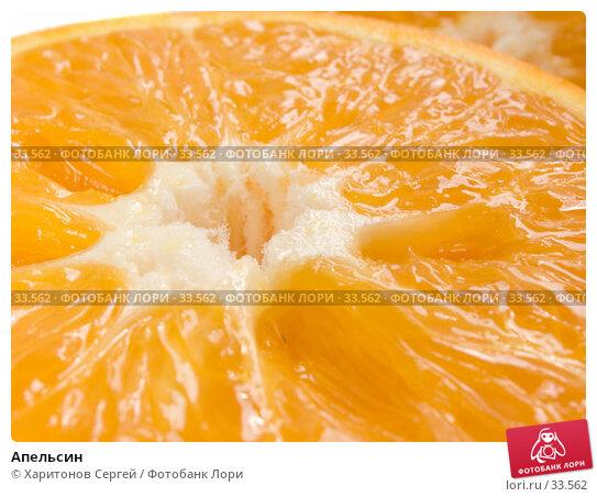 Апельсин, фото № 33562, снято 7 апреля 2007 г. (c) Харитонов Сергей / Фотобанк Лори