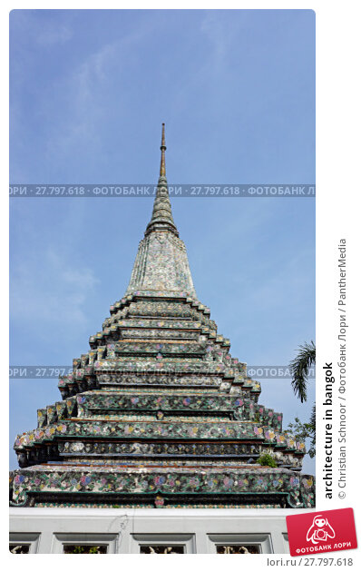 Купить «architecture in bangok», фото № 27797618, снято 21 февраля 2018 г. (c) PantherMedia / Фотобанк Лори