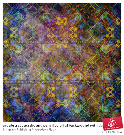 Купить «art abstract acrylic and pencil colorful background with damask pattern in violet, yellow, green and brown colors», фото № 13209854, снято 23 февраля 2019 г. (c) Ingram Publishing / Фотобанк Лори