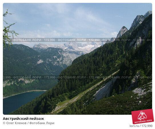Австрийский пейзаж, фото № 172990, снято 2 августа 2007 г. (c) Олег Кленов / Фотобанк Лори