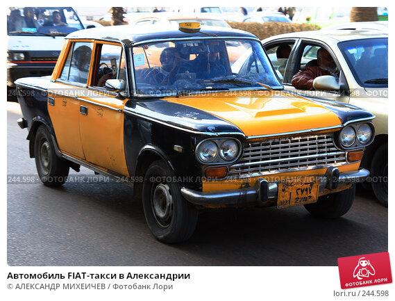 Купить «Автомобиль FIAT-такси в Александрии», фото № 244598, снято 26 февраля 2008 г. (c) АЛЕКСАНДР МИХЕИЧЕВ / Фотобанк Лори
