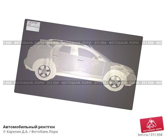 Купить «Автомобильный рентген», иллюстрация № 311934 (c) Карелин Д.А. / Фотобанк Лори