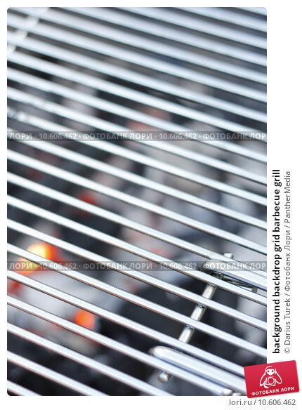 background backdrop grid barbecue grill. Стоковое фото, фотограф Darius Turek / PantherMedia / Фотобанк Лори