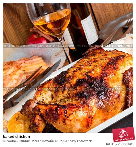 Купить «baked chicken», фото № 20135606, снято 19 марта 2019 г. (c) easy Fotostock / Фотобанк Лори