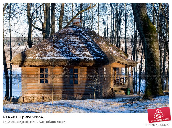 Купить «Банька. Тригорское.», эксклюзивное фото № 178690, снято 5 января 2008 г. (c) Александр Щепин / Фотобанк Лори