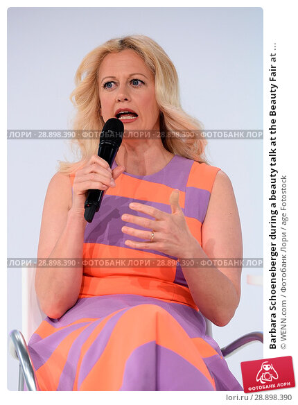 Купить «Barbara Schoeneberger during a beauty talk at the Beauty Fair at Duesseldorf Messe. Featuring: Barbara Schoeneberger Where: Duesseldorf, Germany When: 02 Apr 2017 Credit: WENN.com», фото № 28898390, снято 2 апреля 2017 г. (c) age Fotostock / Фотобанк Лори