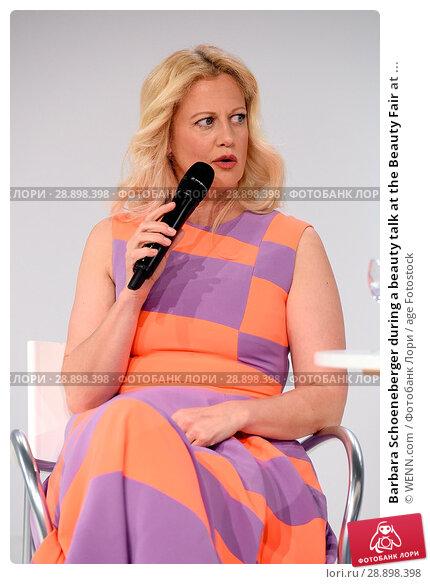 Купить «Barbara Schoeneberger during a beauty talk at the Beauty Fair at Duesseldorf Messe. Featuring: Barbara Schoeneberger Where: Duesseldorf, Germany When: 02 Apr 2017 Credit: WENN.com», фото № 28898398, снято 2 апреля 2017 г. (c) age Fotostock / Фотобанк Лори