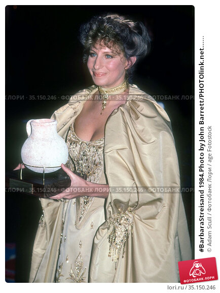 #BarbaraStreisand 1984.Photo by John Barrett/PHOTOlink.net...... Редакционное фото, фотограф Adam Scull / age Fotostock / Фотобанк Лори