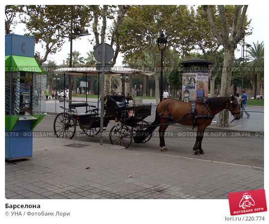 Купить «Барселона», фото № 220774, снято 22 сентября 2006 г. (c) УНА / Фотобанк Лори