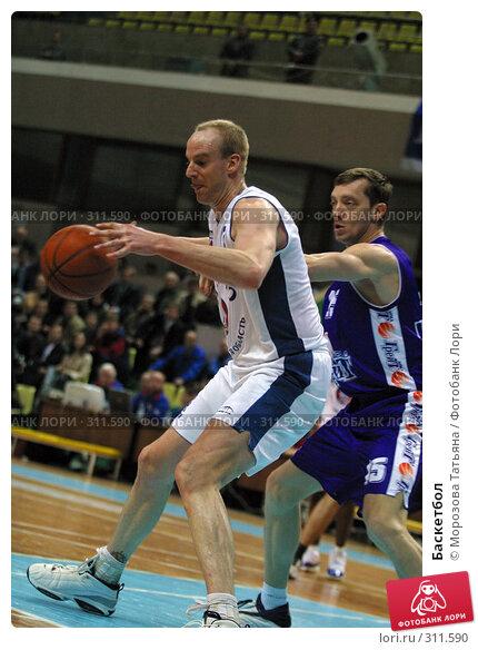 Баскетбол, фото № 311590, снято 3 мая 2004 г. (c) Морозова Татьяна / Фотобанк Лори