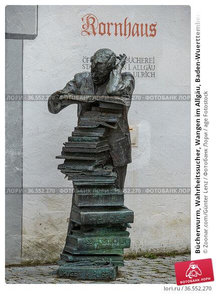 Bücherwurm, Wahrheitssucher, Wangen im Allgäu, Baden-Wuerttemberg... Стоковое фото, фотограф Zoonar.com/Günter Lenz / age Fotostock / Фотобанк Лори