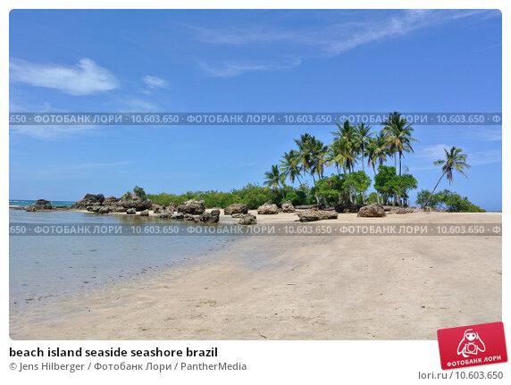 beach island seaside seashore brazil. Стоковое фото, фотограф Jens Hilberger / PantherMedia / Фотобанк Лори
