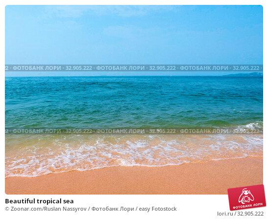 Beautiful tropical sea. Стоковое фото, фотограф Zoonar.com/Ruslan Nassyrov / easy Fotostock / Фотобанк Лори