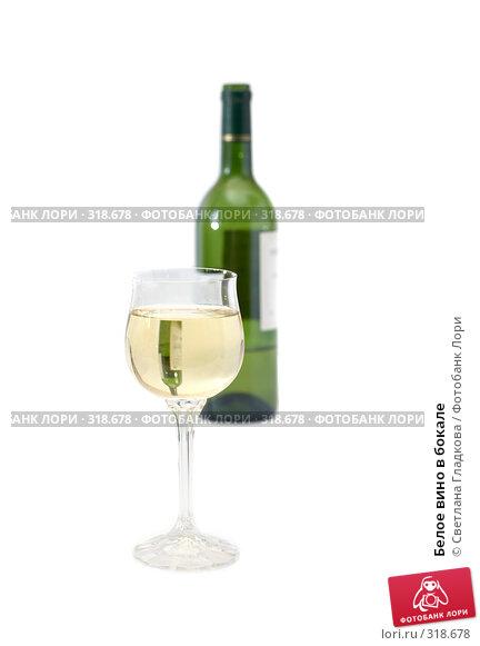 Белое вино в бокале, фото № 318678, снято 8 июня 2008 г. (c) Cветлана Гладкова / Фотобанк Лори