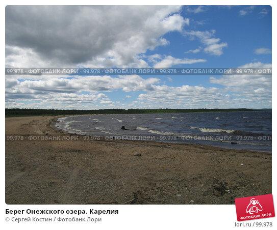 Купить «Берег Онежского озера. Карелия», фото № 99978, снято 5 июля 2006 г. (c) Сергей Костин / Фотобанк Лори