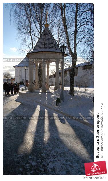Беседка в Звенигороде, фото № 204870, снято 27 января 2008 г. (c) Бычков Игорь / Фотобанк Лори