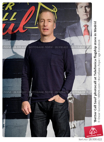 Купить «'Better Call Saul' photocall at Telefonica flagship store in Madrid Featuring: Bob Odenkirk Where: Madrid, Spain When: 18 Apr 2017 Credit: Oscar Gonzalez/WENN.com», фото № 28930622, снято 18 апреля 2017 г. (c) age Fotostock / Фотобанк Лори