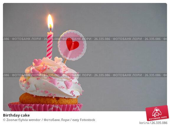 Купить «Birthday cake», фото № 26335086, снято 25 ноября 2017 г. (c) easy Fotostock / Фотобанк Лори