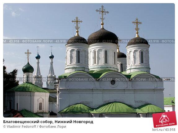 Благовещенский собор, Нижний Новгород, фото № 43918, снято 14 августа 2006 г. (c) Vladimir Fedoroff / Фотобанк Лори