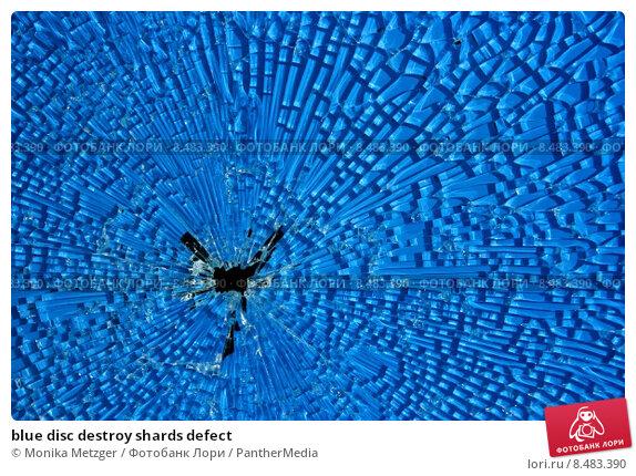 shrapnel shards on blue water analysis