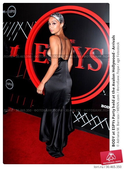 BODY at ESPYs Party held at the Avalon Hollywood - Arrivals (2017 год). Редакционное фото, фотограф Adriana M. Barraza / WENN.com / age Fotostock / Фотобанк Лори