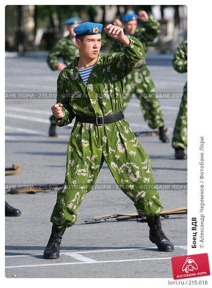 Боец ВДВ, фото № 215018, снято 2 сентября 2006 г. (c) Александр Черемнов / Фотобанк Лори