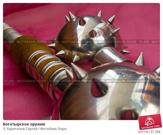 Купить «Богатырское оружие», фото № 31358, снято 18 февраля 2007 г. (c) Харитонов Сергей / Фотобанк Лори